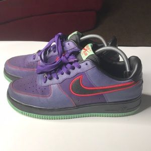 Air Force 1 AF1 Nike Air Purple Lobster Sz 9.5